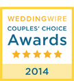 WeddingWire Couples' Choice Award - 2014