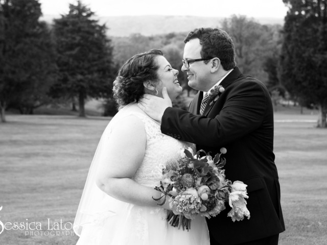 Rebecca and Craig Married at Capon Springs