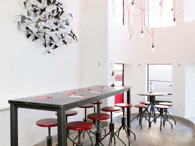 Interior of DC Noodles
