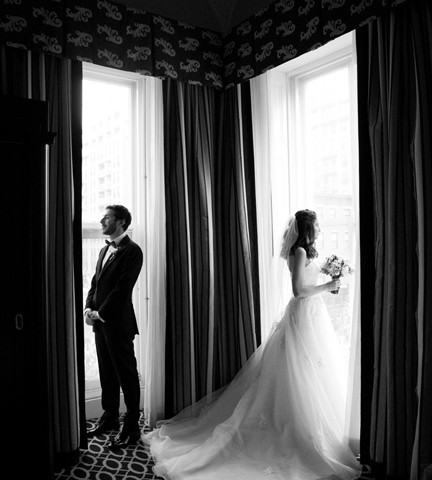D+M Married at the Hotel Monaco DC